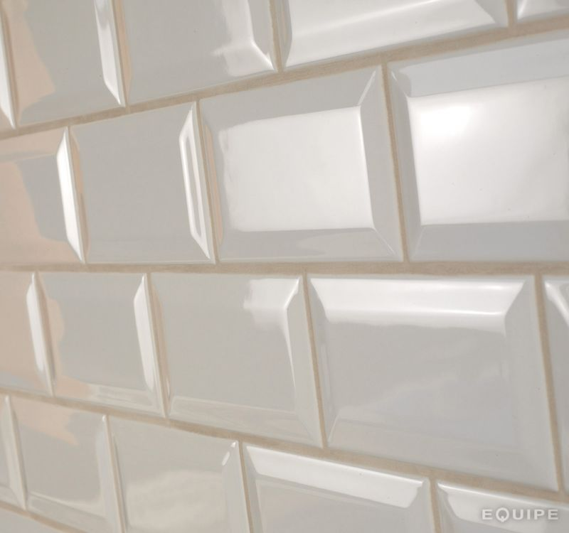 Carrelages, Mosaïques et Galets Metro - Metro 10x20 cm LIGHT GREY ...