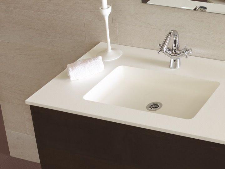 Plan Vasque Lavabo 130 X 50 Cm Suspendue Ou à Encastrer En Résine