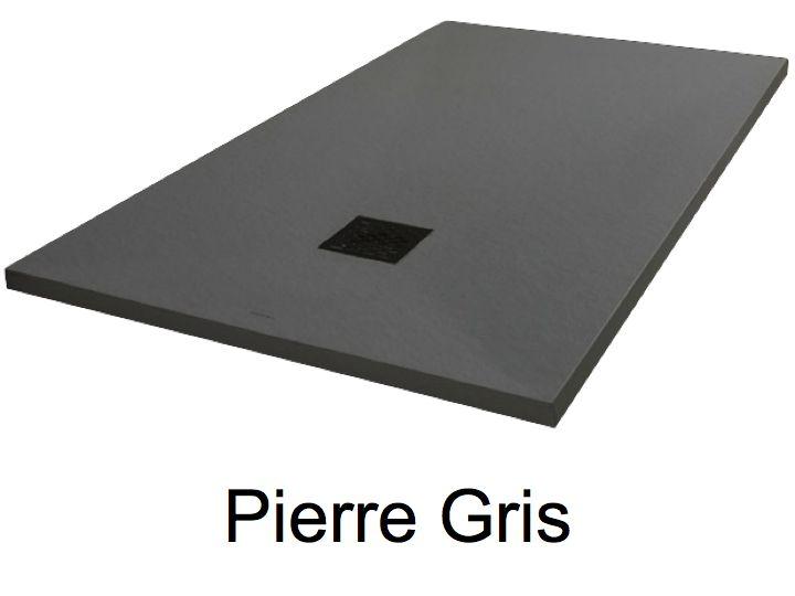receveurs de douches longueur 100 receveur de douche 100 cm en r sine extra plat petite. Black Bedroom Furniture Sets. Home Design Ideas