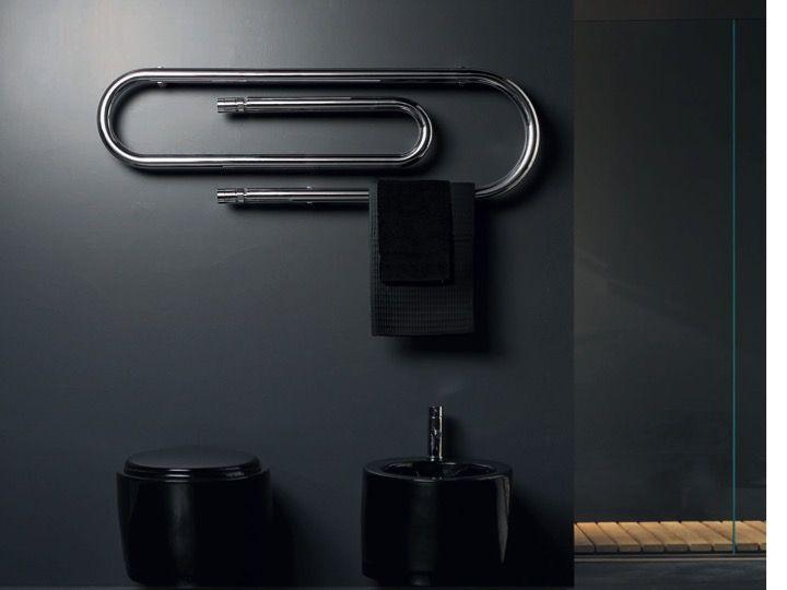 Sèche serviette design, électrique, contemporain - Graffe Blanc ...