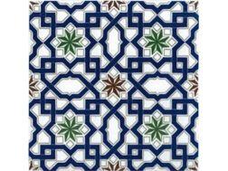 Carrelage faïence, au style oriental, mauresque, Zellige ou andalous ...