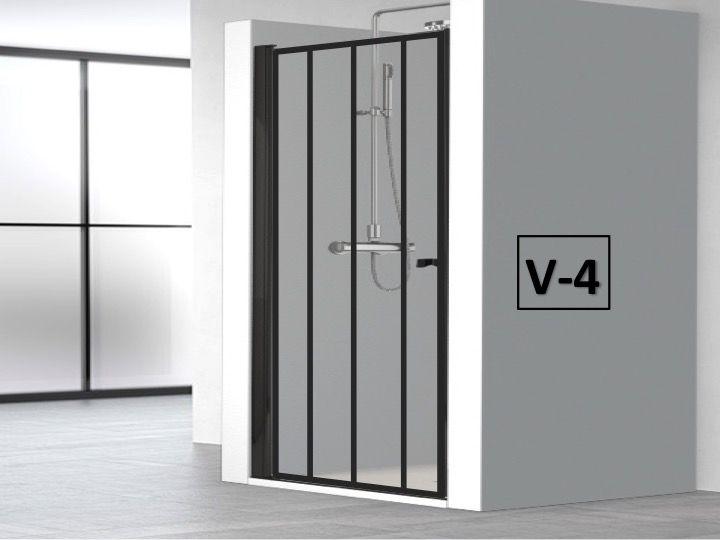 Porte De Douche Battante 80 X 195 Cm Au Style Atelier