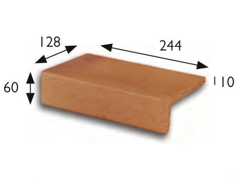 nez de marche 25x13 natural margelle piscine carrelage. Black Bedroom Furniture Sets. Home Design Ideas