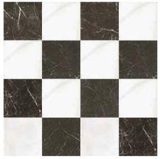 Fs Omeya White 45x45 Carrelage De Sol En Damier Noir Et Blanc