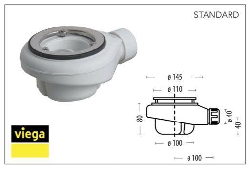Receveurs de douches longueur 110 receveur de douche 110 for Receveur de douche design