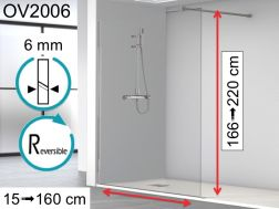 paroi douche porte de douche 60 cm 60 x 180 60 x 185. Black Bedroom Furniture Sets. Home Design Ideas
