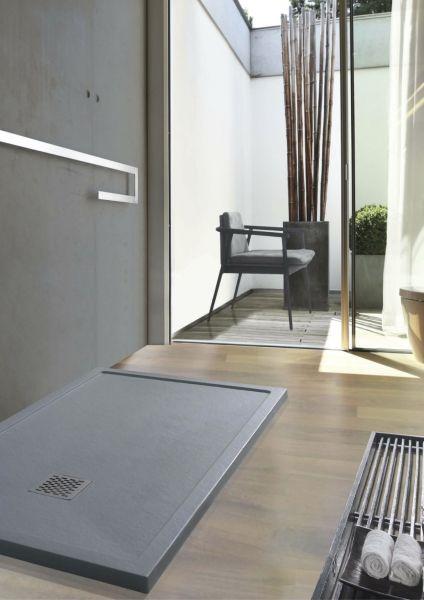 receveurs de douches longueur 120 receveur de douche 120 cm en r sine extra plat effet. Black Bedroom Furniture Sets. Home Design Ideas