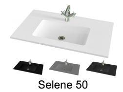 Plan vasque - Vasque, Lavabo suspendu ou à encastrer dans ...