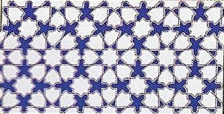 Carrelages mosa ques et galets oriental fatima azul for Carrelage oriental