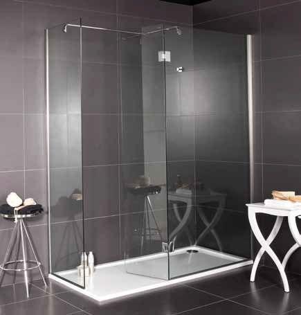 receveurs de douches acrylique - 70-75-80-90 x 100, bac de douche