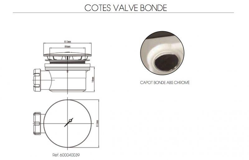 receveurs de douches acrylique 90 x 190 bac de douche. Black Bedroom Furniture Sets. Home Design Ideas