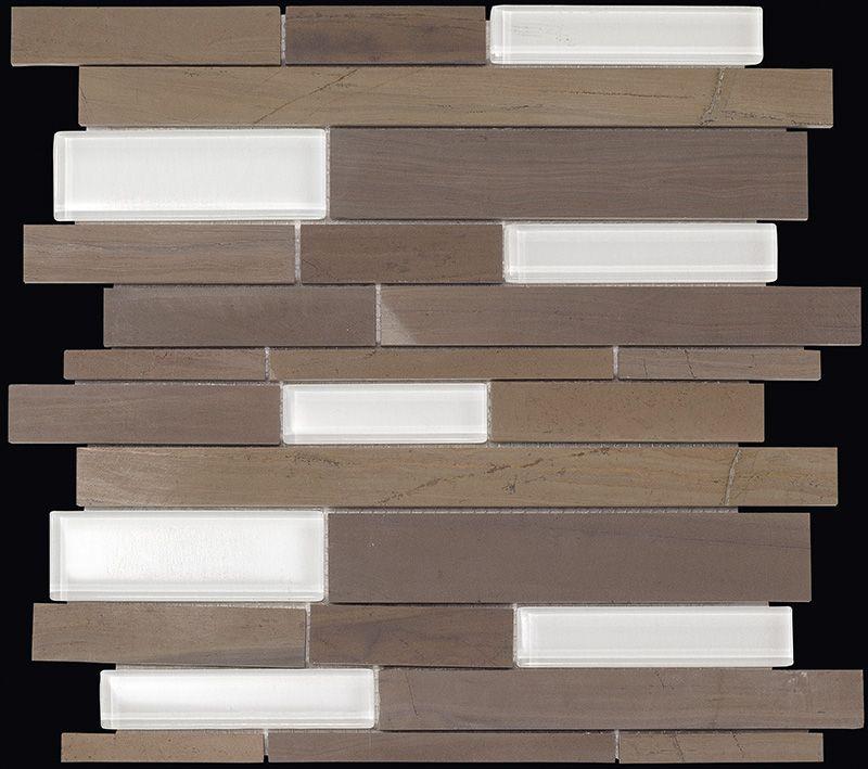 Paves briques de verres mosa ques et galets wood stone for Carrelage 32x32