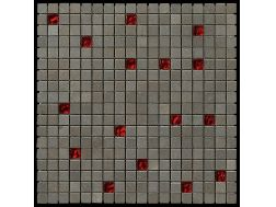 Carbon Glass red Scarlett plaque de mosaïque 30,5x30,5 cm, Boxer