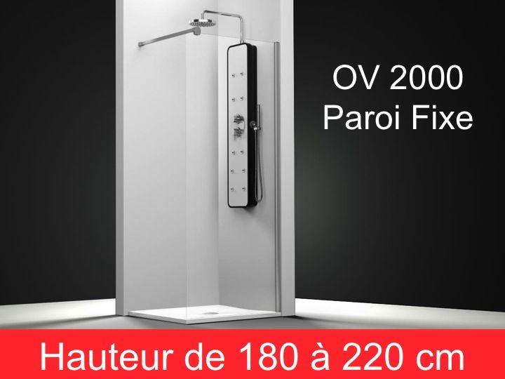 parois de douche largeur 140 paroi de douche fixe 140 cm. Black Bedroom Furniture Sets. Home Design Ideas