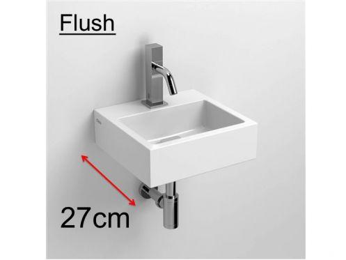 meubles lave mains robinetteries lave mains lave main lave mains c ramique blanc 27 cm. Black Bedroom Furniture Sets. Home Design Ideas