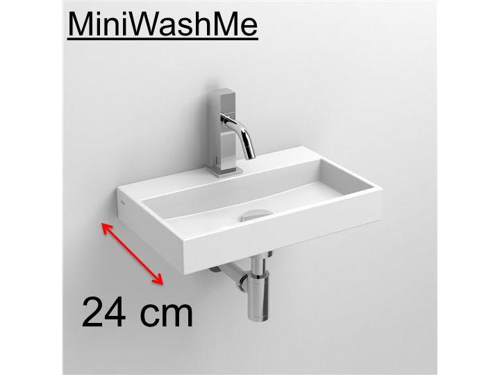 meubles lave mains robinetteries lave mains lave mains en c ramique blanc 24 cm miniwashme clou. Black Bedroom Furniture Sets. Home Design Ideas