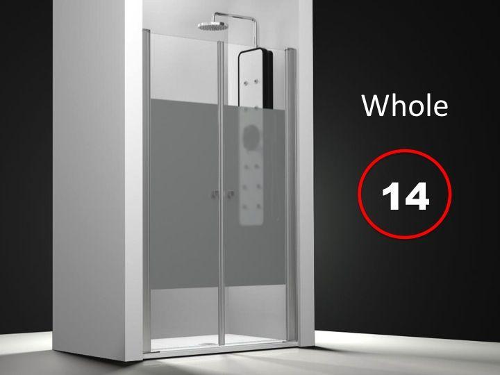 Parois de douche largeur 160 porte de douche pivotante for Porte de douche 180 cm