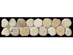 frises ou listels mosa ques de pierre de galets ou de verre pour salle de bain et cuisine. Black Bedroom Furniture Sets. Home Design Ideas