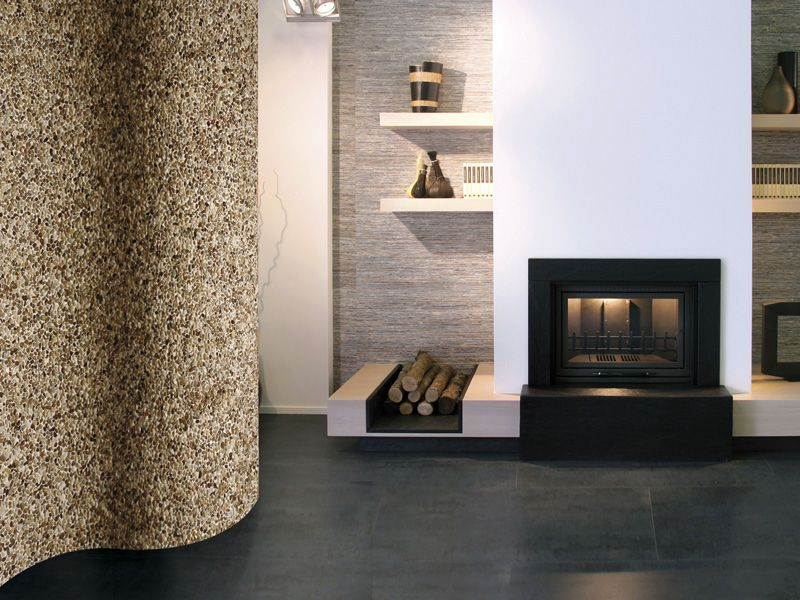 Paves briques de verres mosa ques et galets livenza for Salle bain galets mosaique