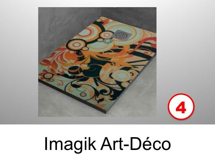 receveurs de douches longueur 120 receveur de douche 80x120 imagik art deco. Black Bedroom Furniture Sets. Home Design Ideas