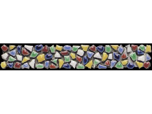 Mosa ques marbre galets et frises frises pianosa for Frise mosaique salle de bain