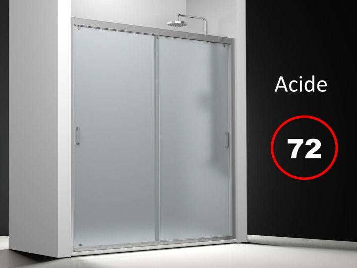 Parois de douche largeur 110 porte de douche 2 panneaux for Porte de douche 110 cm