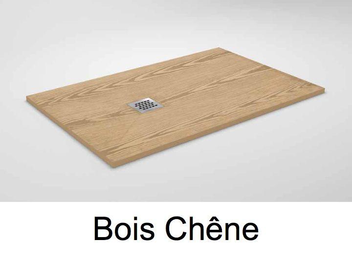 Amazing Receveur De Douche En Bois #3: Receveur De Douche 105 Cm En Résine, Petit Taille Ou Grande Dimension,  Extra Plat