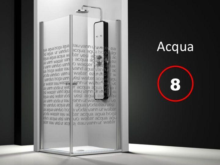 Parois de douche largeur 100 porte de douche acc s d 39 angle 100x100 cm s rigraphy hauteur de - Porte de service hauteur 180 ...